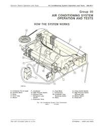 john deere 4400 and 4420 combine complete technical manual