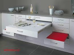 table escamotable dans meuble de cuisine meuble cuisine avec table escamotable pour idees de deco de