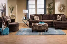 Microfiber Living Room Set Channing Microfiber Sectional