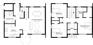 Single Story Open Floor Plans One Floor House Plans Picture Bedroom Bath Open Best Ideas