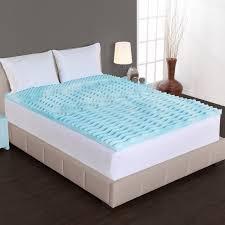 authentic comfort 2 inch comfort rx 5 zone foam mattress topper ebay