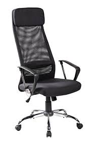 tenafly mesh desk chair kerland high back headrest mesh padded ergonomic adjustab https