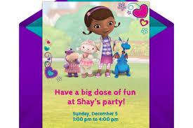 doc mcstuffins party doc mcstuffins party online invitation disney family
