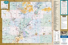 Snowmobile Trail Maps Michigan by Wisconsin Atv Trail Maps