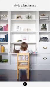 how to style a bookcase how to style a bookcase pretty domesticated