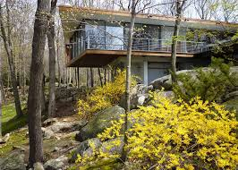 1950s Home Gluck Architects U0027 Rado Redux Is A Naturally Modern Take On A