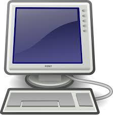pc ordinateur de bureau ordinateur de bureau images vectorielles gratuites sur pixabay