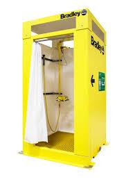 indoor enclosed safety shower bradley corporation indoor enclosed safety shower