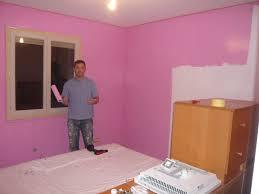 peinture violette chambre chambre fille et gris idee deco maison chambre fille et