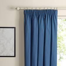Lined Curtains Diy Inspiration Lined Curtains Diy Inspiration Prestige Blue Smoke Plain Pencil