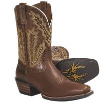 cowboy boots for men square toe