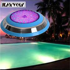 12v Led Pool Light Aliexpress Com Buy Rayway Led Swimming Pool Light 54w Ac Dc 12v
