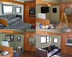 rv remodeling ideas photos 40 best before after rv renovations images on pinterest cers