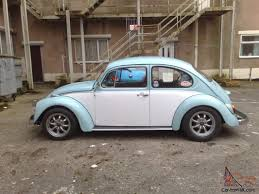 volkswagen light blue 1973 tax exempt blue and white vw beetle