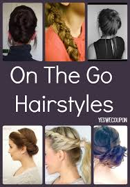 hair styles for a run beauty hacks easy chic on the run hairstyles