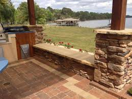 Building A Raised Patio With Retaining Wall by Download Patio Wall Ideas Garden Design