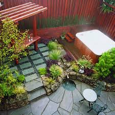 Small Patio Design Stone Grill Patio S A T Landscape Services - Small backyard patio design
