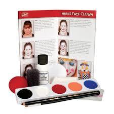 Halloween Airbrush Makeup Kit by Mehron Clown Makeup Kits 5 Colors Clownantics Com