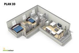 appartement deux chambres appartement 2 chambres avec garage et balcon en plein cœur de