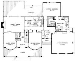 southern style house plan 4 beds 3 baths 3057 sq ft plan 137