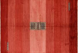 Area Rug Modern by New Modern Collection Orange 7 U0027x10 U0027 Gabbeh Hand Knotted Wool Area