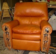 Western Style Furniture The Ultimate Recliner Leather U0026 Cowhide