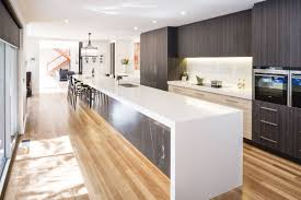 kitchen room furniture long kitchen island with two tone kitchen furniture long kitchen island with two tone kitchen cabinets and light wooden flooring plus recessed ceiling lighting for kitchen design ideas how to make