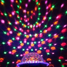 Disco Light Bulb Lixada Dmx 512 7 Channels Led Rotating Strobe Rgbpyw Crystal Magic