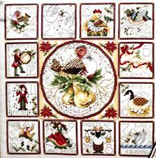 the 12 days of with ornaments cross stitch pattern by