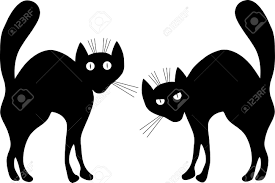 5 008 magic cat cliparts stock vector and royalty free magic cat