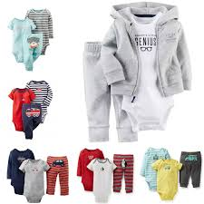 buy 3pc baby clothes autumn winter carters baby boy clothes set
