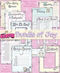 baby book ideas an adorable printable baby book made with dj inker s clipart dj