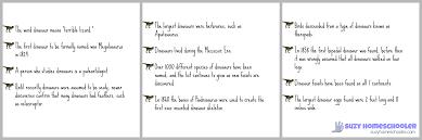 free printable dinosaur fact valentines suzy homeschooler