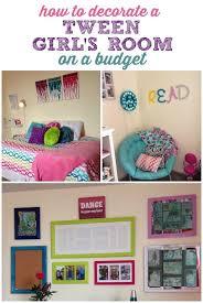 Diy Decorating On A Budget Decorating A Tween U0027s Room On A Budget Tween Diy Ideas And