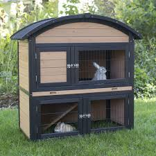 Sale Rabbit Hutches Trixie Rabbit Hutch With Outdoor Run 62332 Hayneedle