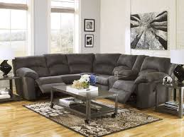 White Leather Recliner Sofa Set by Leather Reclining Sofa And Couch Seat In Brown Color Scheme On