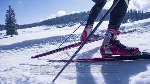 jingles of competition cross country skiing bum ba dum bum bum