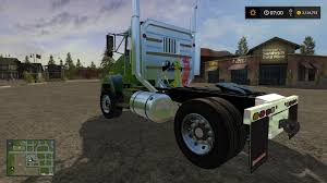 kenworth chassis kst kenworth t800 fixed v2 4 for fs 17 farming simulator 2017