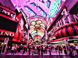 Las Vegas Fremont Street Map by Where To Dine Near The Fremont Street Experience