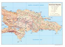 Cabo Map Dominican Republic Maps Perry Castañeda Map Collection Ut