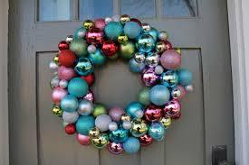 crozette shiny ornament wreath diy