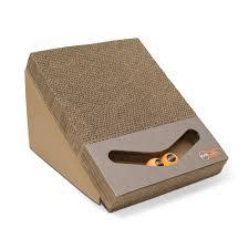 Cat Scratcher Replacement Pads Amazon Com K U0026h Scratch Ramp And Track Cardboard Cat Scratcher