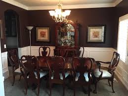 Neutral Dining Rooms 2017 Grasscloth Wallpaper The Wells Collection Modern Vintage Country Dining Room