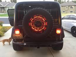 jeep wrangler third brake light 3rd brake light mod jeep wrangler tj forum