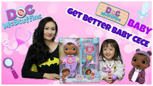 doc mcstuffins get better doc mcstuffins baby get better baby cece playset review