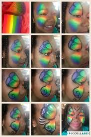 best 25 rainbow face paint ideas on pinterest facepaint ideas