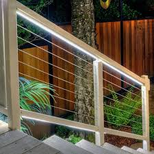 Decking Kits With Handrails Cablerail Assembly Kit By Feeney Cable Railing Decksdirect