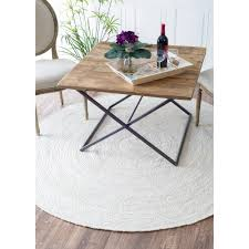 Outdoor Braided Rugs Sale by Nuloom Alexa Eco Natural Fiber Braided Reversible Round Jute Rug