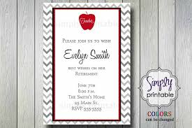 Retirement Invitation Wording Teacher Retirement Party Invitations Cimvitation