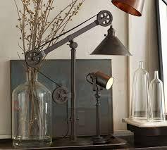 task lighting apt series warren pulley task table l on custom made vintage industrial